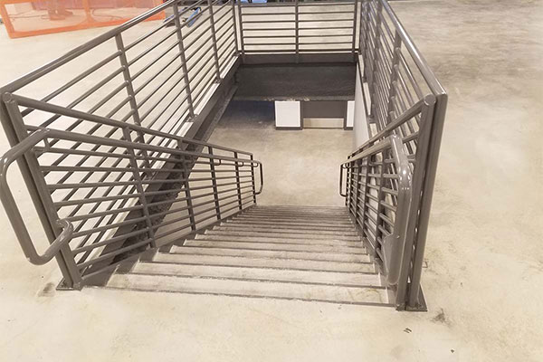 commercial metal railing